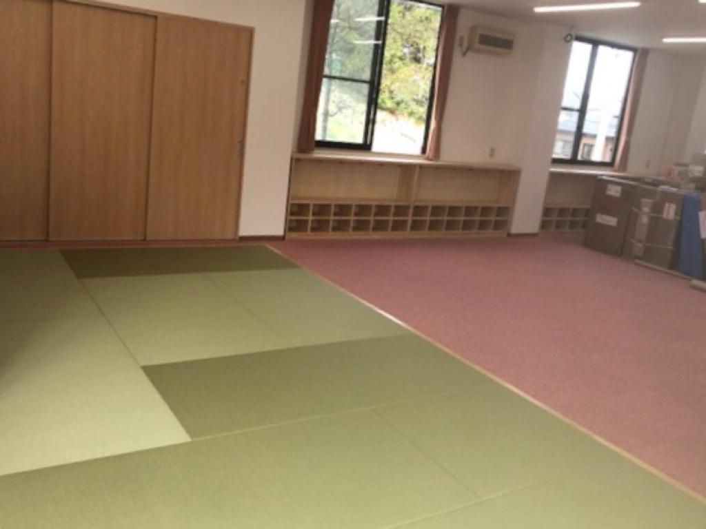 保育園リフォーム床暖房工事(宮城県東松島市)